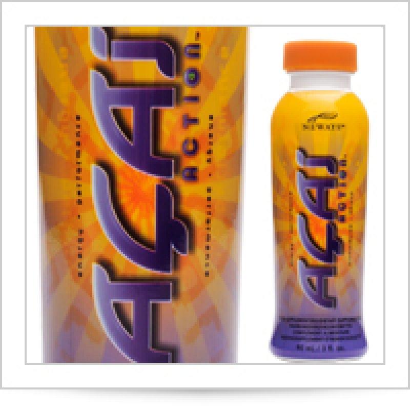 Acai Action (Асаи Экшен) энергетический напиток на основе сока асаи www.neway.com.ua