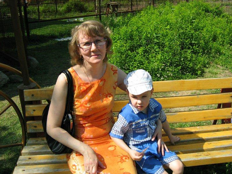 Артёмик с мамой