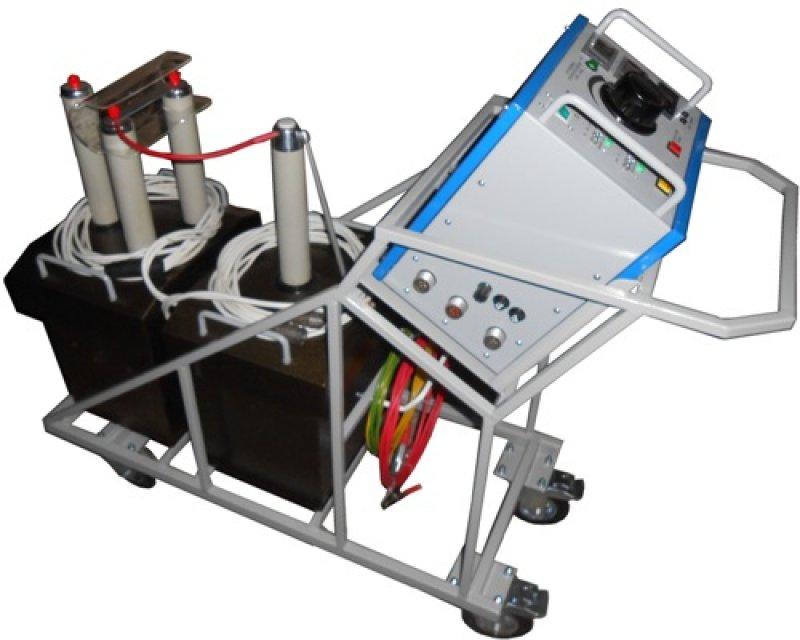 Установка  СНЧ-35 Установка высоковольтная для проведения испытаний твердых диэлектриков.