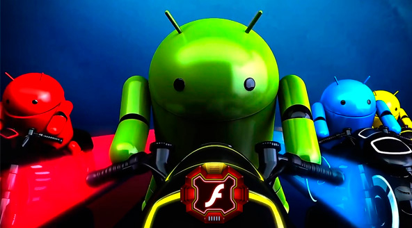 flash-in-android