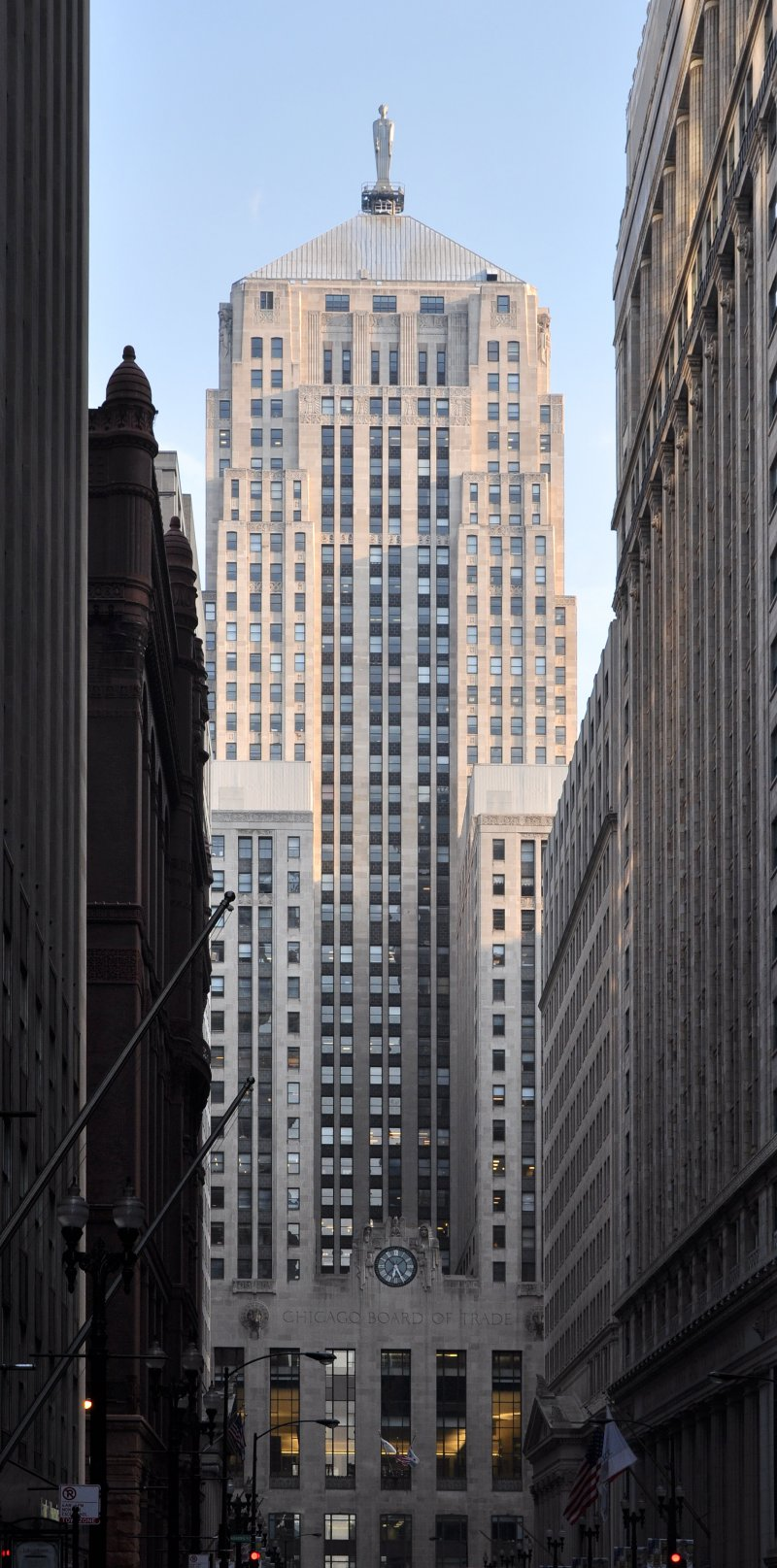 The Chicago Board of Trade Building