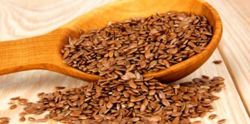 семена льна коричневые