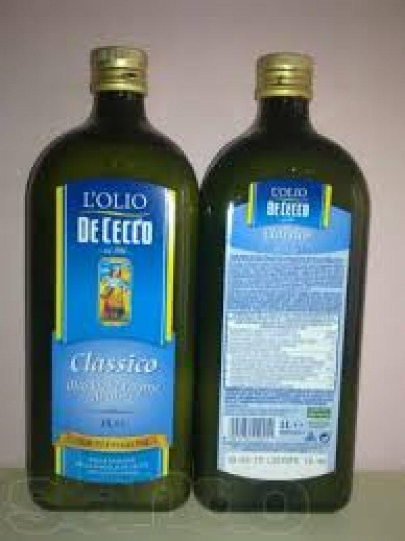 оливковое масло De cecco холодный отжим