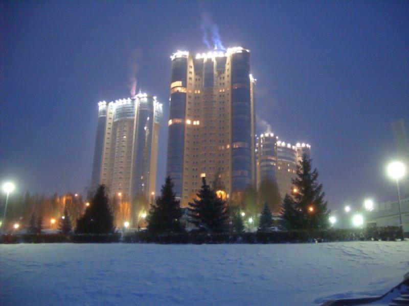 Жилой комплекс Ладья на берегу реки Волга