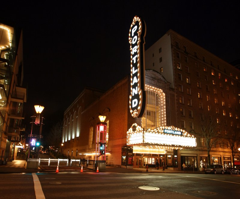 The Arlene Schnitzer Concert Hall, home of the Oregon Symphony, among others