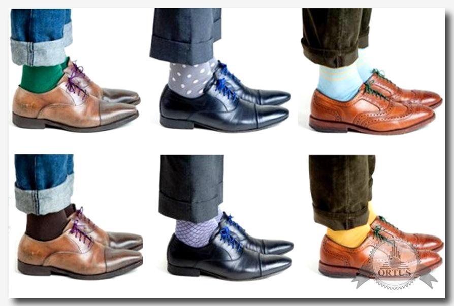 Советы от информационного торгового портала Ортус Глобал как правильно подбирать мужские носки под одежду